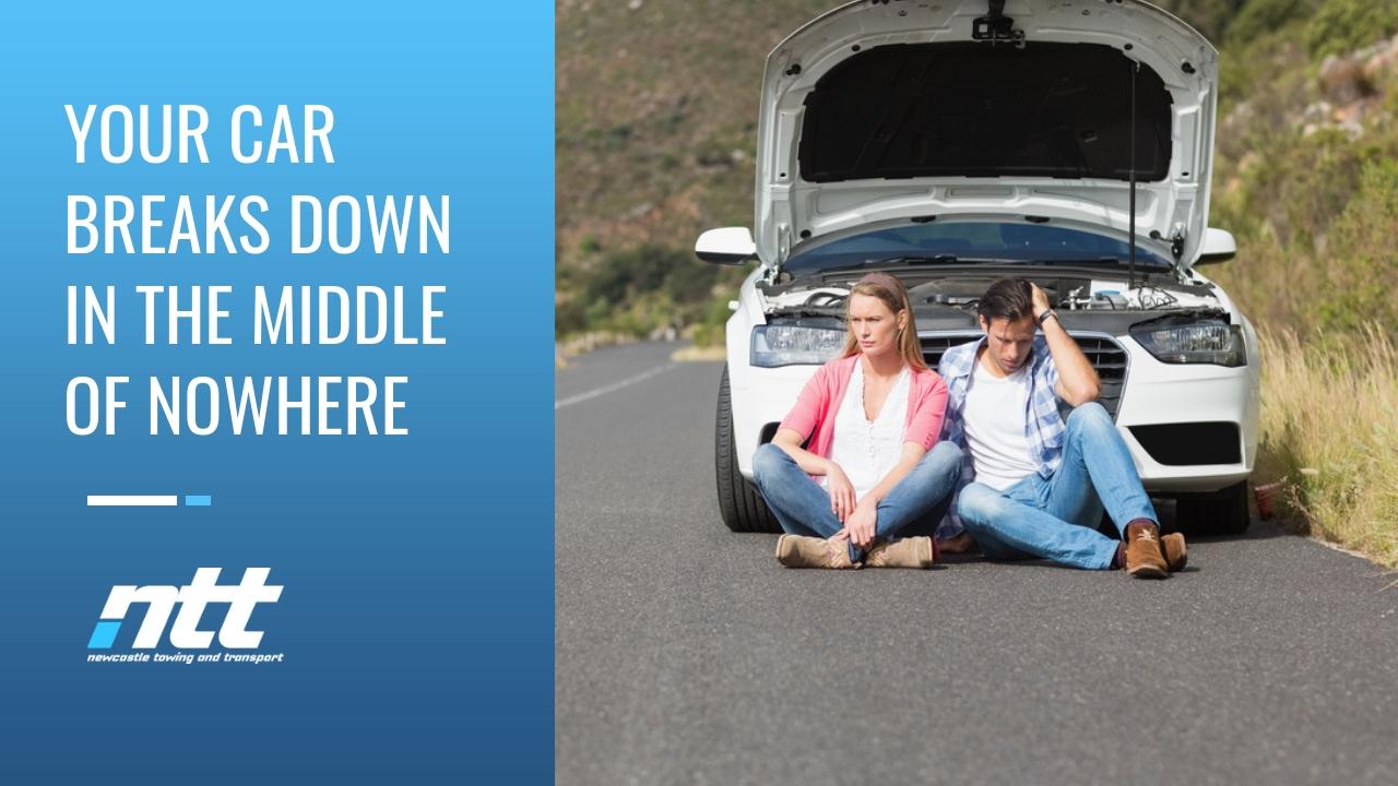 car breakdown towing service newcastle