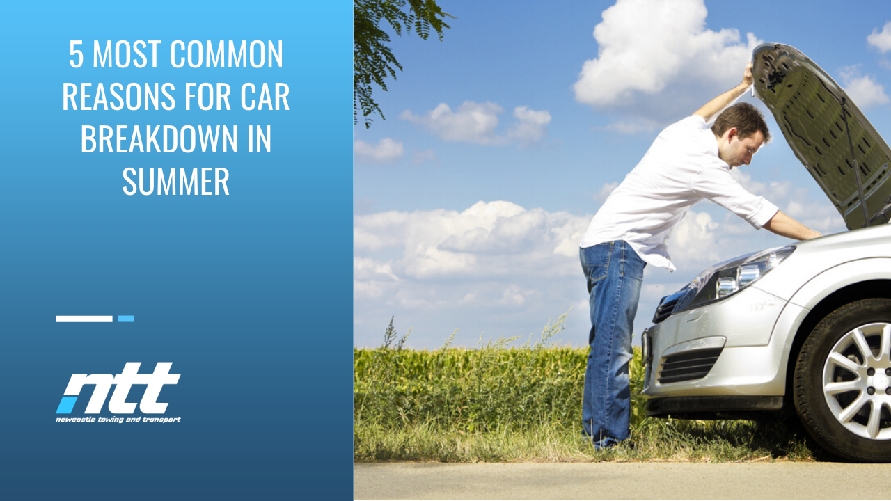 5 Most Common Reasons for Car Breakdowns in Summer